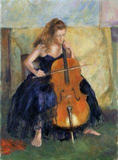Armitage, Karen : The Cello Player, 1995