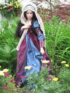"""""""JULIET"""" One of a kind doll by artist Jamie Williamson"""