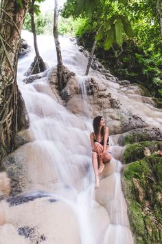 Review of Sticky Waterfall in Thailand near Chiang Mai