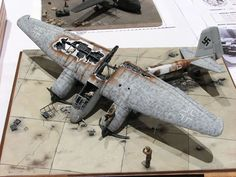 German aircraft model.