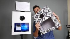 How to Build a Photo Booth with $10 shell enclosure