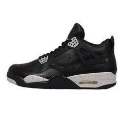 hot sale online 6b7f3 11627 4 Retro Ls Mens. Air jordan shoesMichael Jordan ShoesNike air jordansBlack 7 Basketball ...