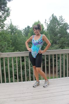 Vintage 80s Aerobic Leotard Purple Green Teal by by benbeautiful, $22.00