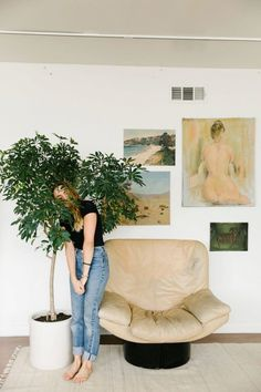 That Kind Of Woman · birdasaurus: Urban Outfitters Home Interior Design, Interior And Exterior, Interior Decorating, Interior Inspiration, Design Inspiration, Urban Outfitters, Deco Nature, Painted Chairs, Shops