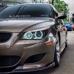 BMW E60 M5 brown
