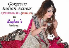 Kashee S Mehndi Makeup : Glamorous mehndi makeup and hair styling done by kashee s beauty