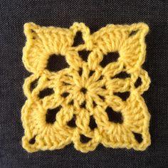 Crochet a Pretty Square Pattern