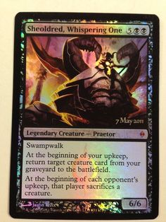 Magic the Gathering: 1x Foil Promo Sheoldred, Whispering One New Phyrexia NM/M #WizardsoftheCoast #mtg