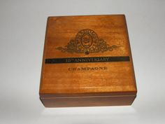 Beautiful Perdomo All-Wood Cigar Boxes by FunEclecticHF on Etsy