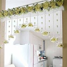 35 Windows Decor That Will Inspire You – Home Decoration – Interior Design Ideas 35 Windows-Dekor, das Sie inspirieren wird – Innendekoration – Interior Design-Ideen Crochet Curtains, Beaded Curtains, Rideaux Design, Diy Home Decor, Room Decor, Home Curtains, Window Curtains, Diwali Decorations, Curtain Designs