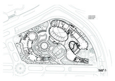 Taipei Flora Expo Pavilions,Site Plan