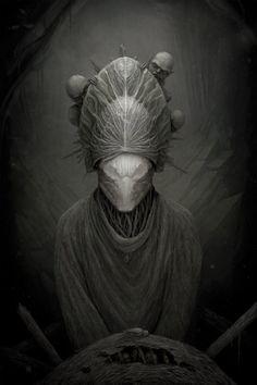Creepy Illustrations by Anton Semenov | Cruzine