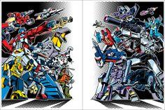 TRANSFORMERS 30th Anniversary Prints by Guido Guidi