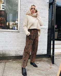 Photo shared by meg on March 2020 tagging Image may contain: 1 person, standing and shoes Bombshells, Harem Pants, March, Image, Shoes, Style, Fashion, Swag, Moda
