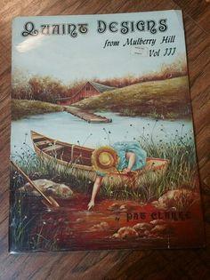 Vintage Tole Painting Book by Pat Clarke Quaint Designs Vol 3 Mulberry Hill   eBay