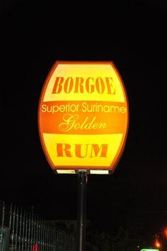 Borgoe Superior Suriname Golden Rum