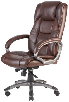 Image Result For Brown Leather Office Chair