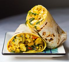 vegan-breakfast-burrito-daiya-pepperjack. my favorite to go breakfast