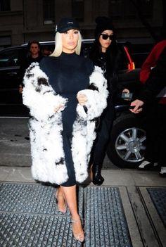 Kim Kardashian wearing Anti Social Social Club I Miss You Cap and Anti Social Social Club I Miss You Cap