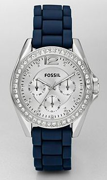 fossil watch! holy crap.. my obsession with fossil watches is probably unhealthy.. considering each one is about 130$