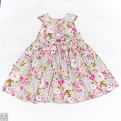 Dusty Ponk Floral Tea Party Dress