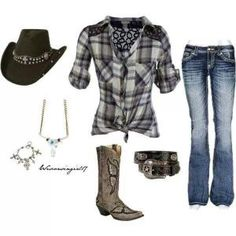 Country girl outfit by lucia