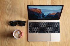 MacBook, Fire King & Rayban