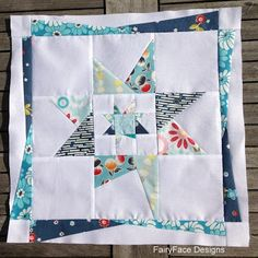 Wonky Star Mini Quilt