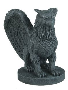 Gothic Griffin Gargoyle Statue Figure Guardian Medievel by Private Label, http://www.amazon.com/dp/B000CCOMBY/ref=cm_sw_r_pi_dp_t2Ucsb1QXAS0X