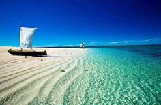 Madagascar - a beautiful island country in the Indian Ocean - Africa - Fresh Travel Destinations Dream Vacations, Vacation Spots, Places To Travel, Places To See, Travel Destinations, Magic Places, Places Around The World, Beautiful Beaches, Beautiful Ocean