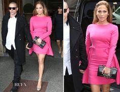 Jennifer Lopez in Pink  @ Valentino spring summer 2013 #PFW