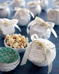 winter wedding favors - Google Search