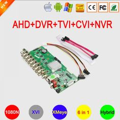 1080N 16CH/8CH/4CH XMeye APP Coaxial 6 in 1 Hybrid Coaxial AHD TVI CVI DVR NVR Motherboard Free Shipping  Price: 795.58 & FREE Shipping #computers #shopping #electronics #home #garden #LED #mobiles #rc #security #toys #bargain #coolstuff |#headphones #bluetooth #gifts #xmas #happybirthday #fun