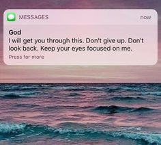 """I ASK FOR GOD'S HELP  """"ALL THE TIME""""  TO HELP ME STAY  """"FOCUSED ON HIM"""""""