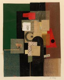 quincampoix: Kurt Schwitters (German, Für Moholy, Collage composed of cut, torn and pasted papers with printed paper elements, x cm. Art Institute of Chicago. Painting Collage, Action Painting, Collage Art, Paintings, Kurt Schwitters, Collages, Robert Rauschenberg, Abstract Expressionism, Abstract Art