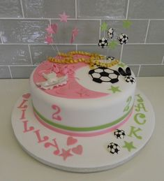 Cake for 2 two year olds
