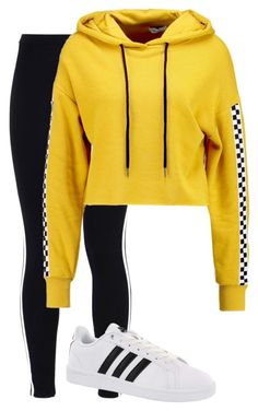 """""""Untitled #132"""" by sofiaosousa on Polyvore featuring adidas Originals, adidas and TWINTIP"""