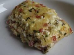 Low Carb Körniger Frischkäse Auflauf mit Speck | Low Carb Rezepte
