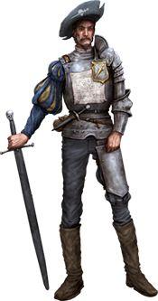 A Human Mercenary