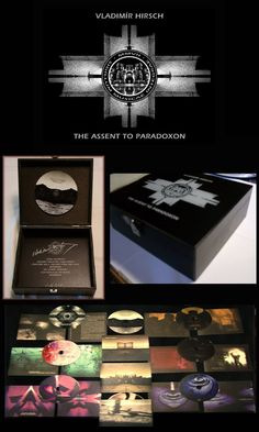 Vladimír Hirsch / The Assent To Paradoxon - collection of works (8 CDs box-set, 2010)
