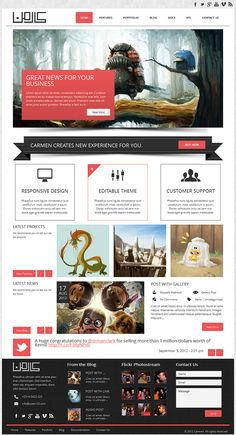 Responsive premium multipurpose WP theme. This theme is designed by Code125 and it has been placed at ThemeForest