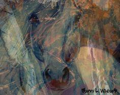 pinterest horeses in art | Artist: Barry L. Wingard