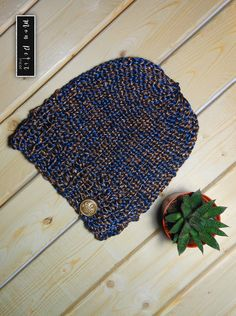 Fatheru0027s Day Special Blue Hat   Hand Knitted   80% Canadian Wool From  New Brunswick | Grey Hat