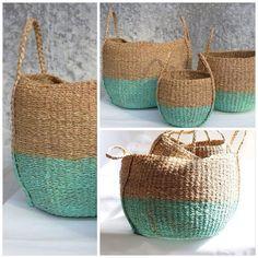 Nesting Baskets - Grey Twig