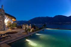 Prachtvolle Villa im mediterranen Stil mit Gästehaus und Seesicht - Brione sopra Minusio, Schweiz - Wetag Consulting