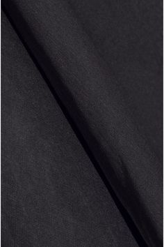 Charcoal silk-chiffon Button-fastening keyhole at back 100% silk Dry clean
