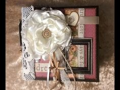 """Mini-Album """"Sweet Dreams"""" Sweet Dreams, Mini Albums, Gift Wrapping, Frame, Gifts, Decor, Gift Wrapping Paper, Picture Frame, Presents"""