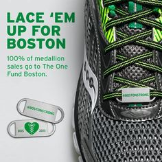This medallion is to raise money for the One Boston Fund.
