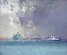 Fred Cuming Venice, Approaching Storm
