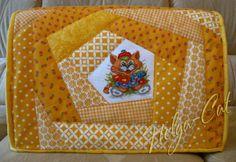 Домик вышивающей кошки: Чехол для швейной машины - наконец-то он у меня есть! ))))